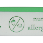 allergy ID bracelet engraved in soft silicone with one or many allergies and emergency contact numbers
