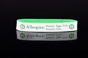 Allergy bracelet
