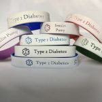Diabetes Bracelet, Type 1 Diabetes Bracelets, Type 2 Diabetes, Medical Bracelets